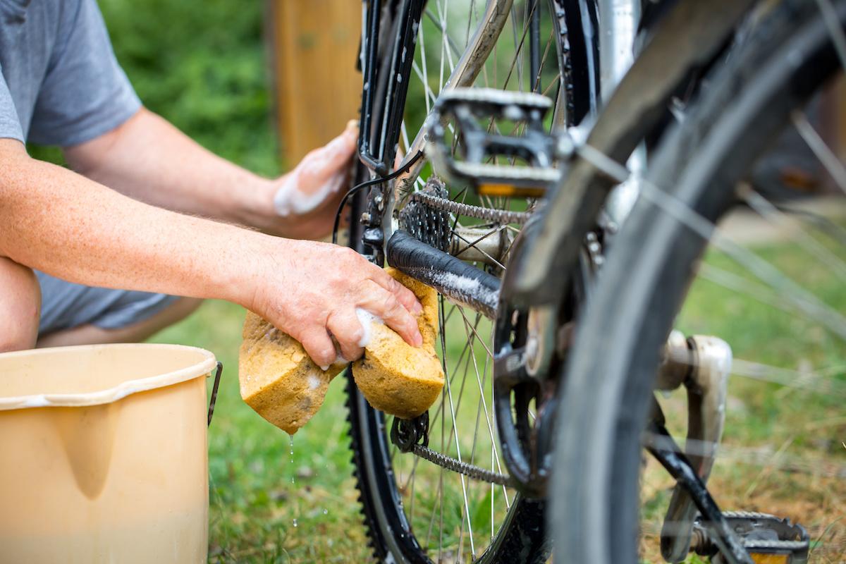 Laver son vélo