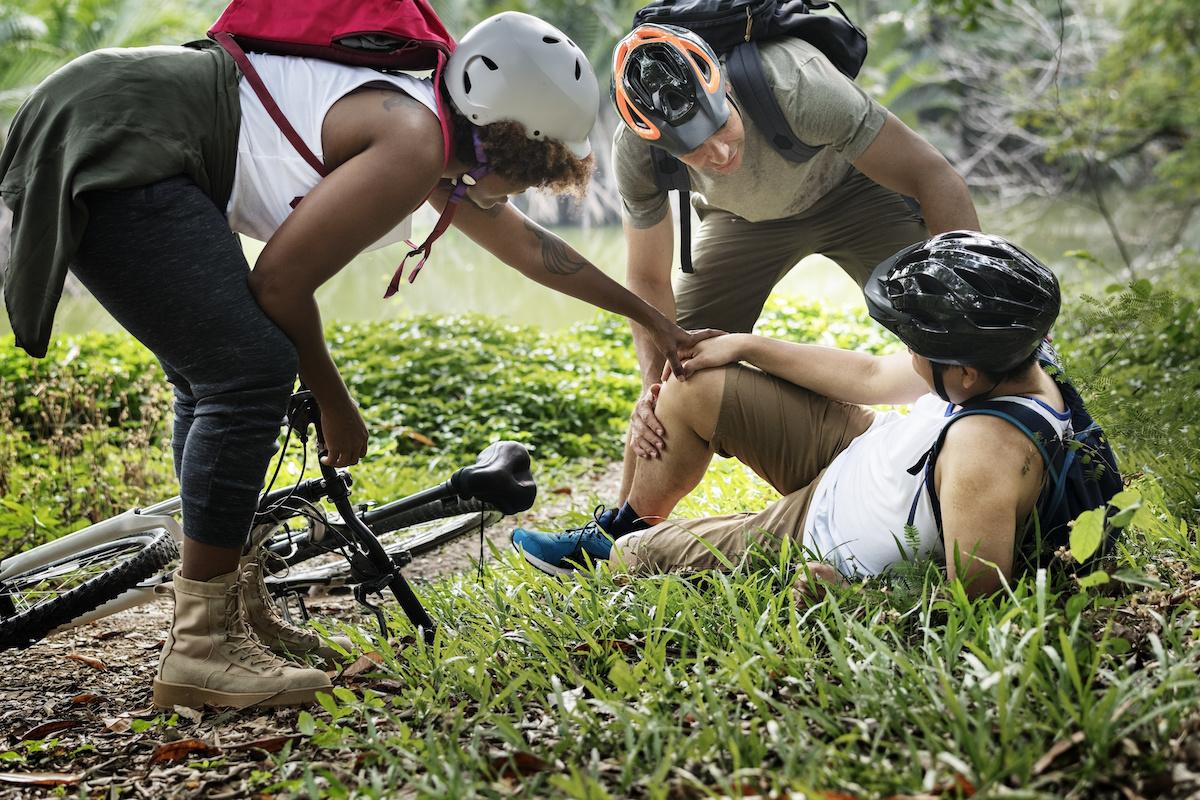 Blessure Vélo de montagne