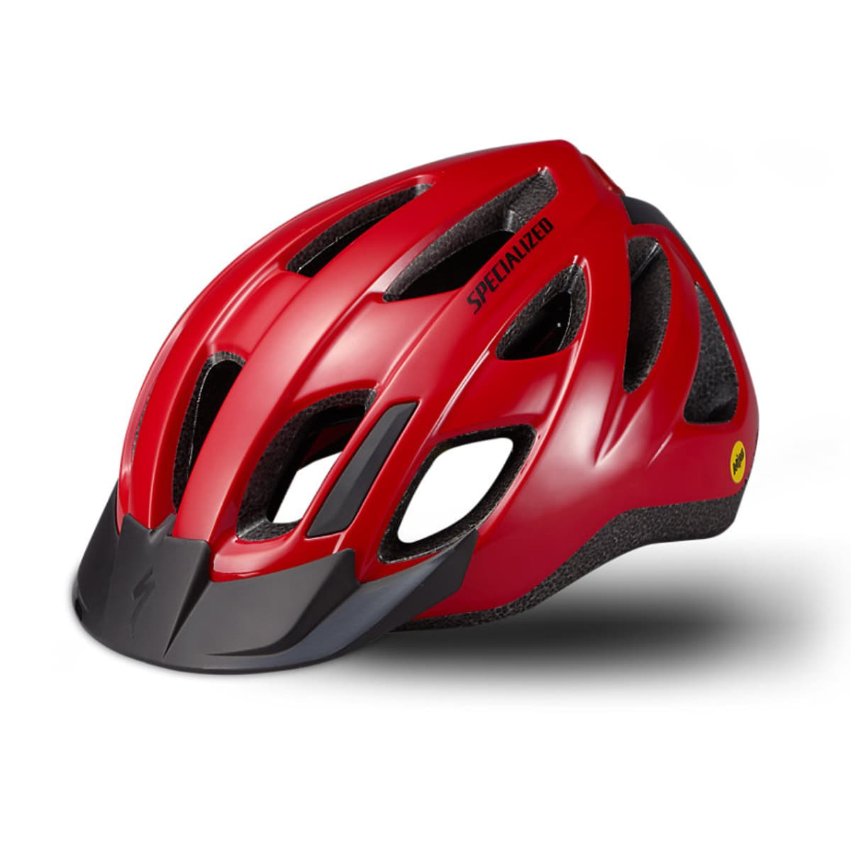 CASQUE SPECIALIZED CENTRO LED MIPS ROUGE