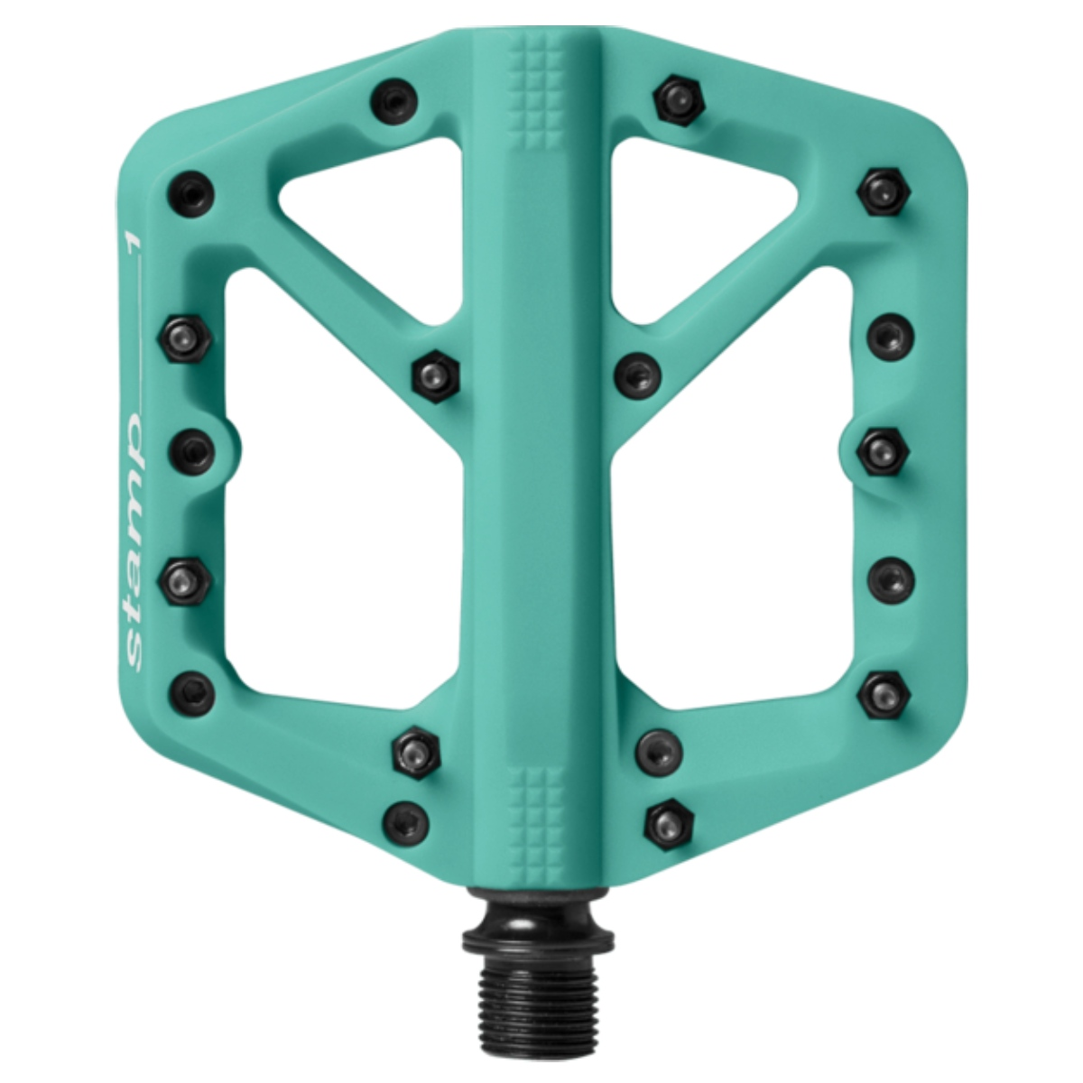 PEDALES TURQUOISE CRANK BROTHERS STAMP 1