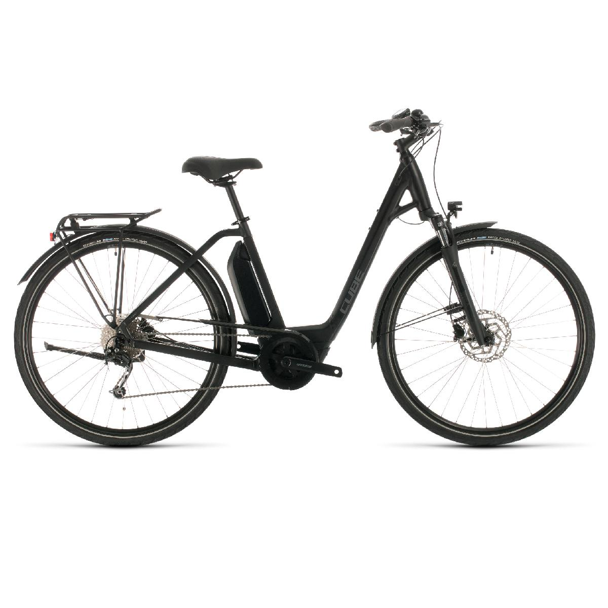 VÉLO ELECTRIQUE CUBE TOWN SPORT HYBRID ONE 400 EASY ENTRY