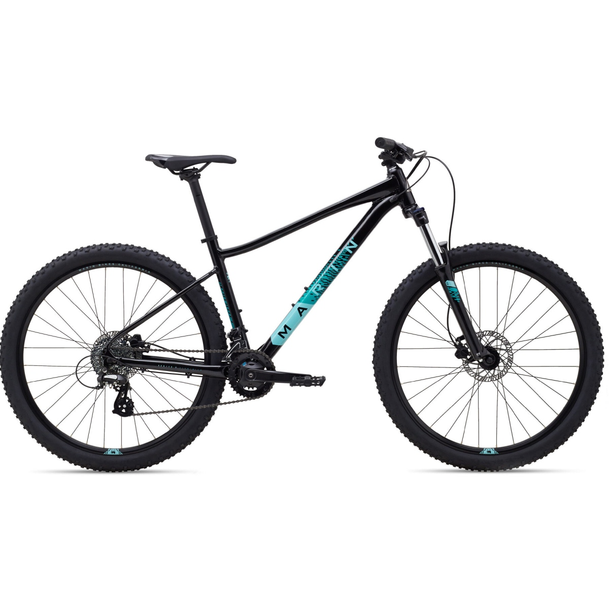 MARIN WILDCAT TRAIL 3 NOIR/TURQUOISE SMALL