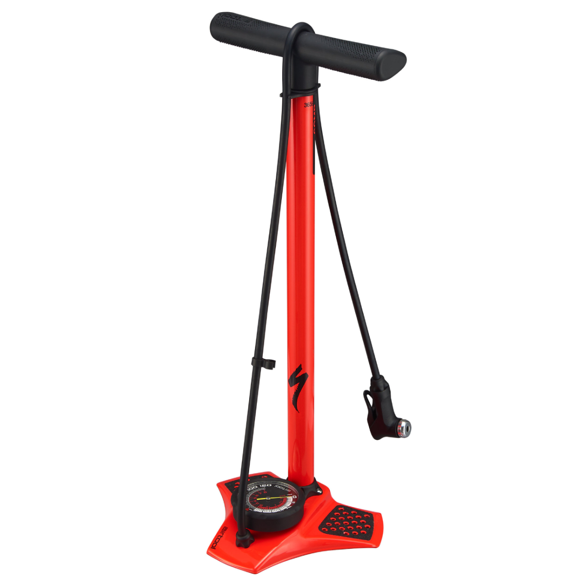 POMPE A PIED SPECIALIZED AIR TOOL COMP V2 ROUGE
