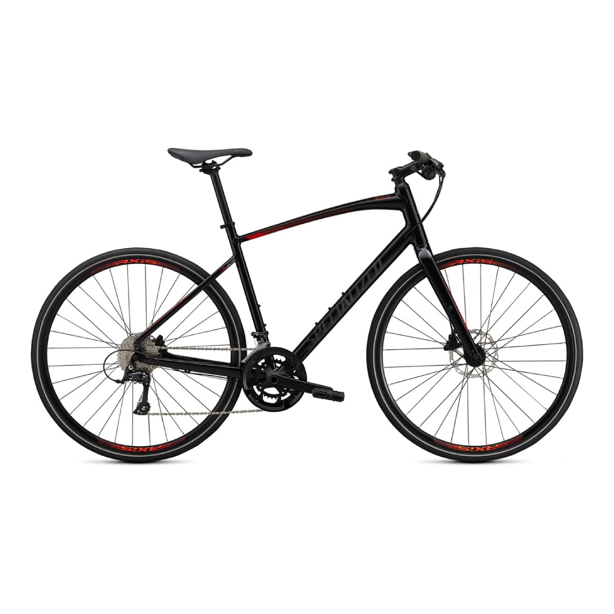 SPECIALIZED SIRRUS 3.0 NOIR/ROUGE XSMALL