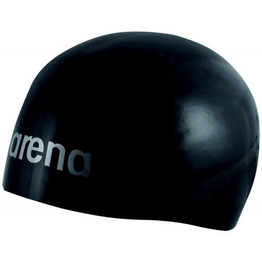 BONNET DE NAGE ARENA 3D ULTRA - NOIR