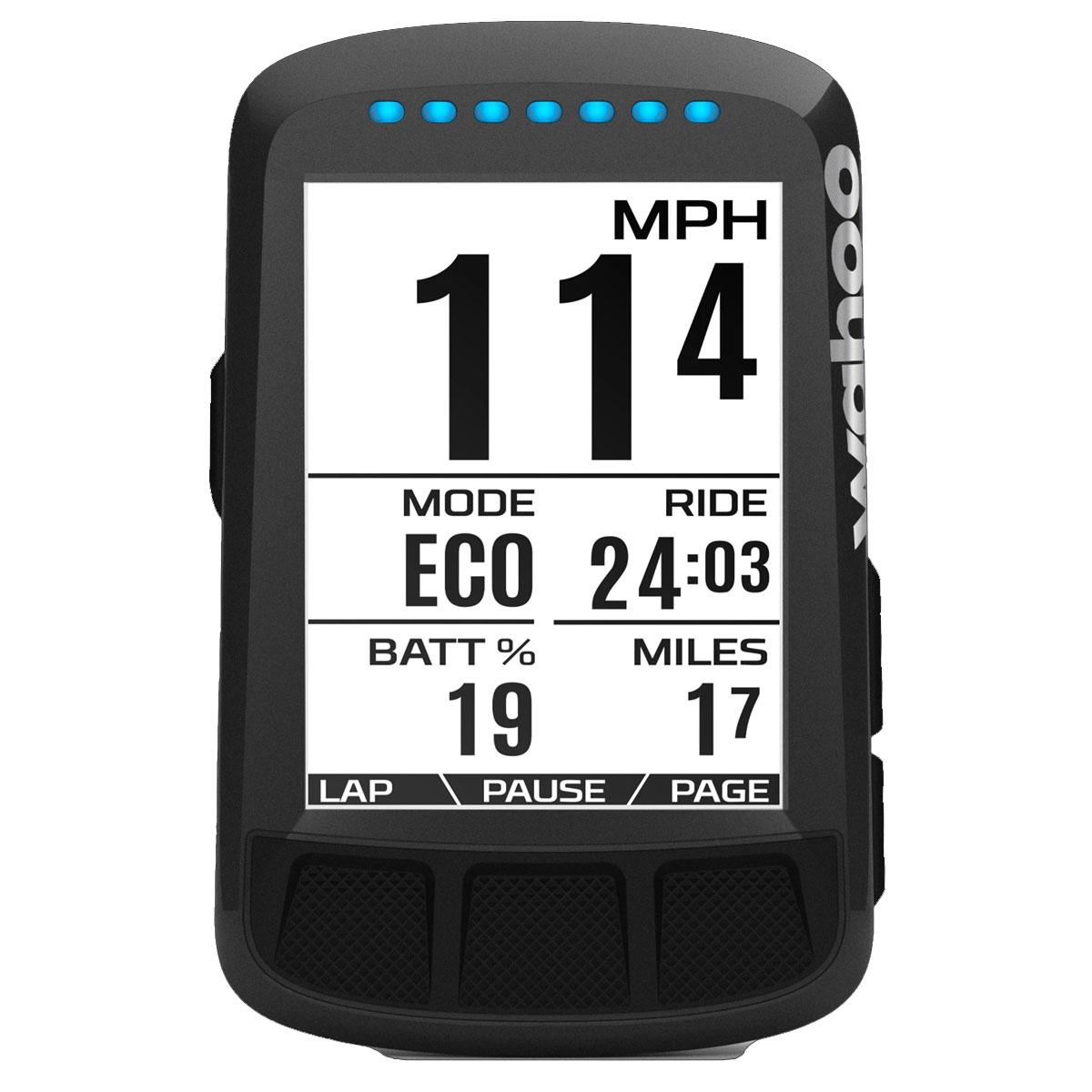ORDINATEUR GPS WAHOO ELEMNT BOLT STEALTH