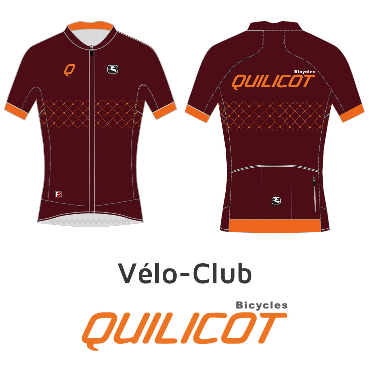 MAILLOT VELO CLUB HOMME 2020