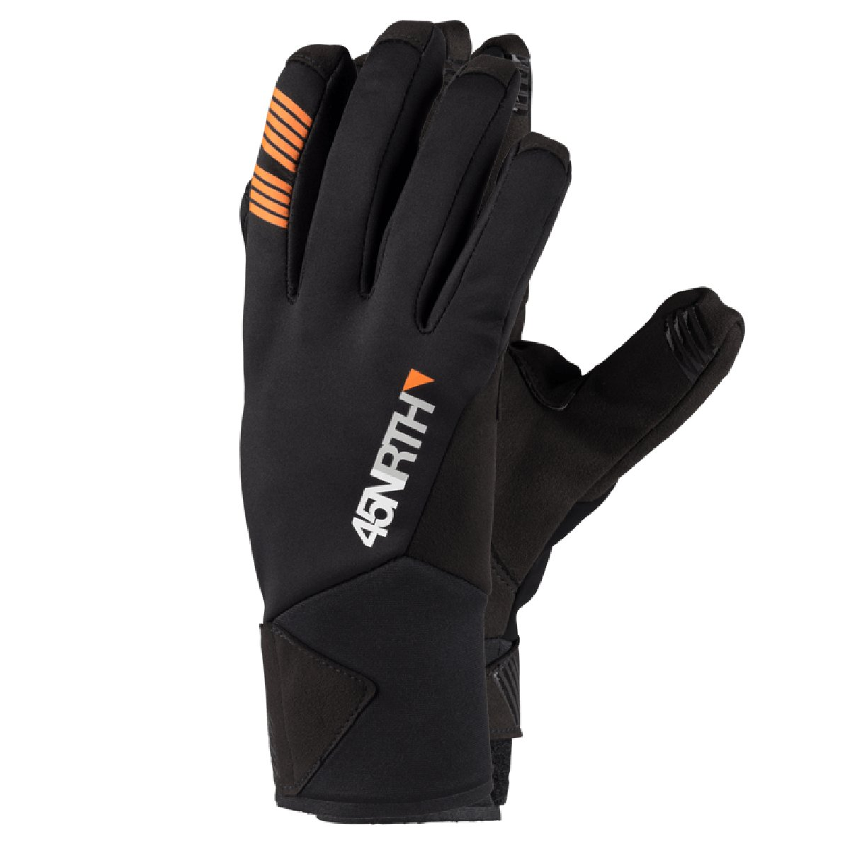 GANTS 45NRTH NOKKEN ORANGE NOIR
