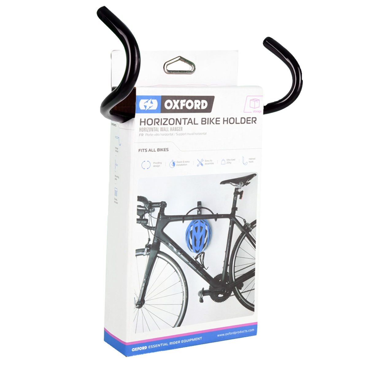 SUPPORT A VELO OXFORD HORIZONTAL