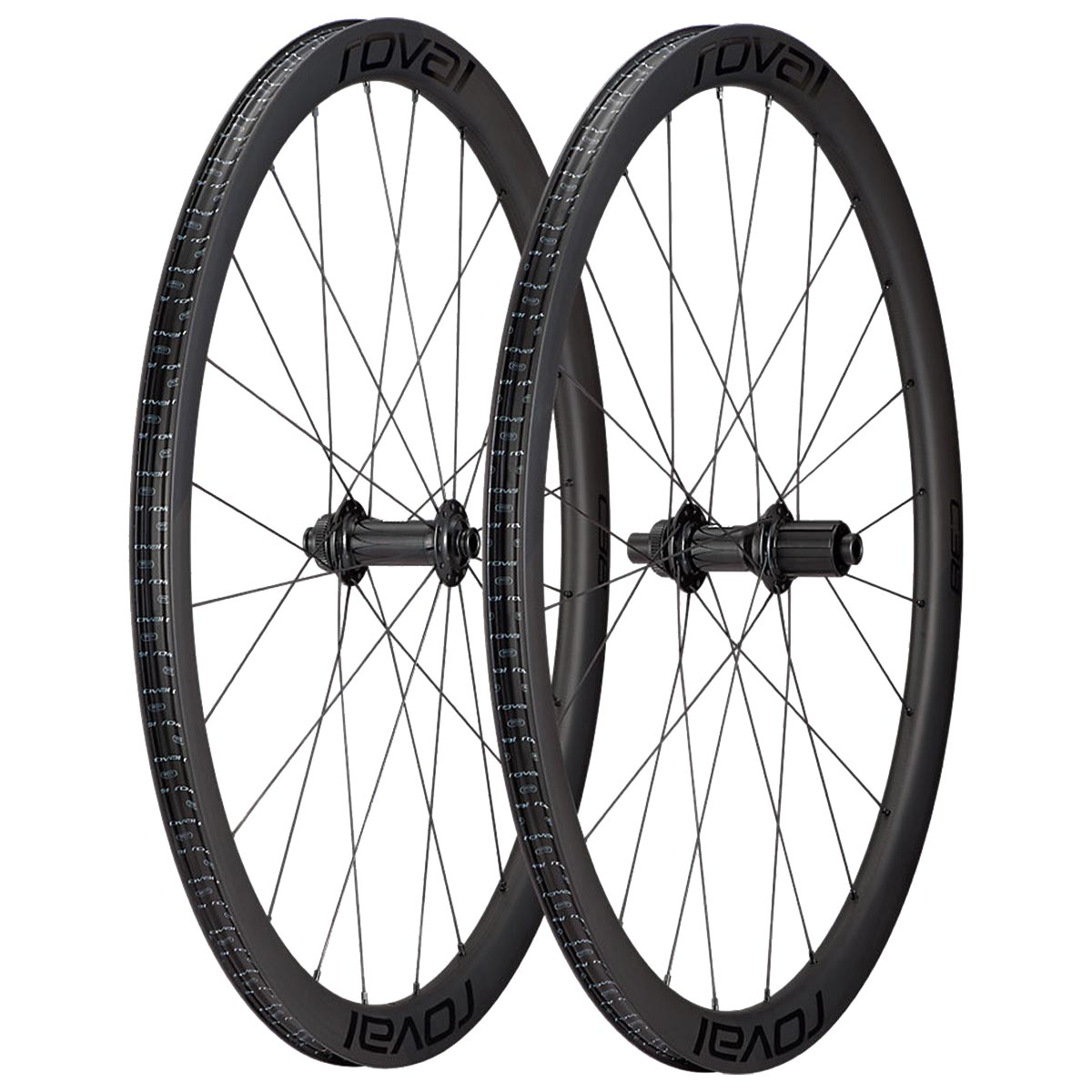 ROUES ROVAL C38 BOOST CARBON DISQUE