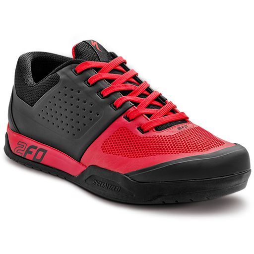 CHAUSSURE SPECIALIZED 2FO FLAT NOIR/ROUGE 41