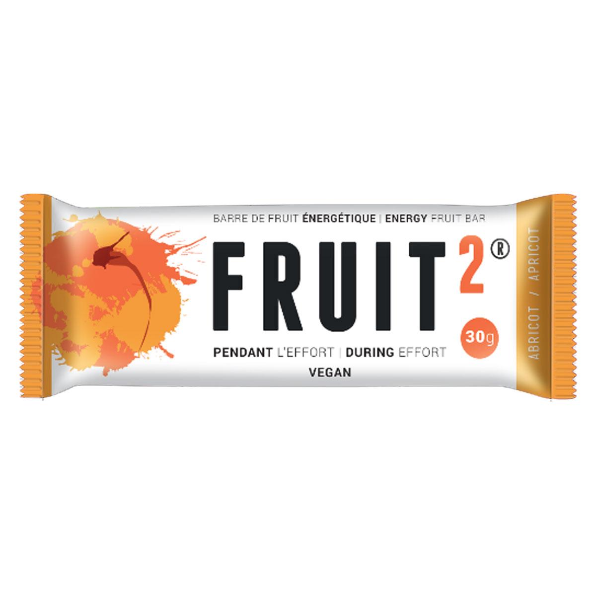 BARRE DE FRUIT ENERGETIQUE FRUIT2 ABRICOT