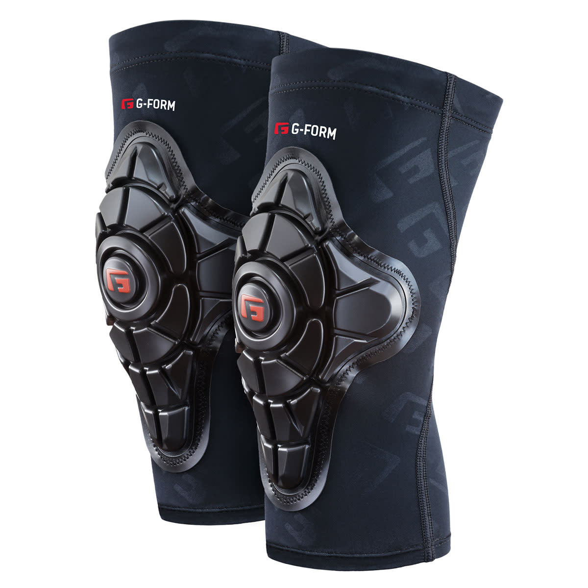 G-Form, Pro-X, Knee Pads, Unisex, Black, XL