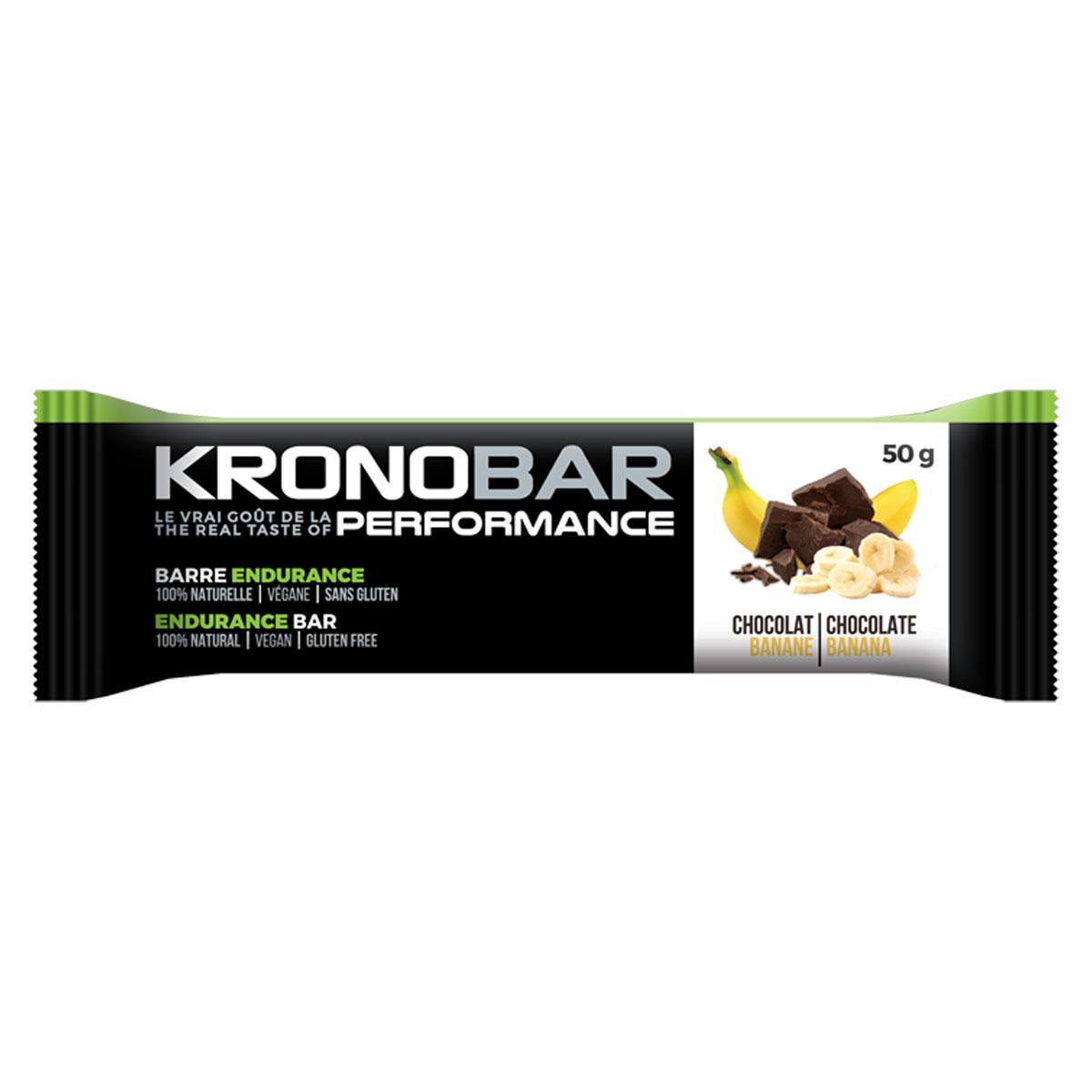 BARRE ENDURANCE KRONOBAR CHOCO/BANANE