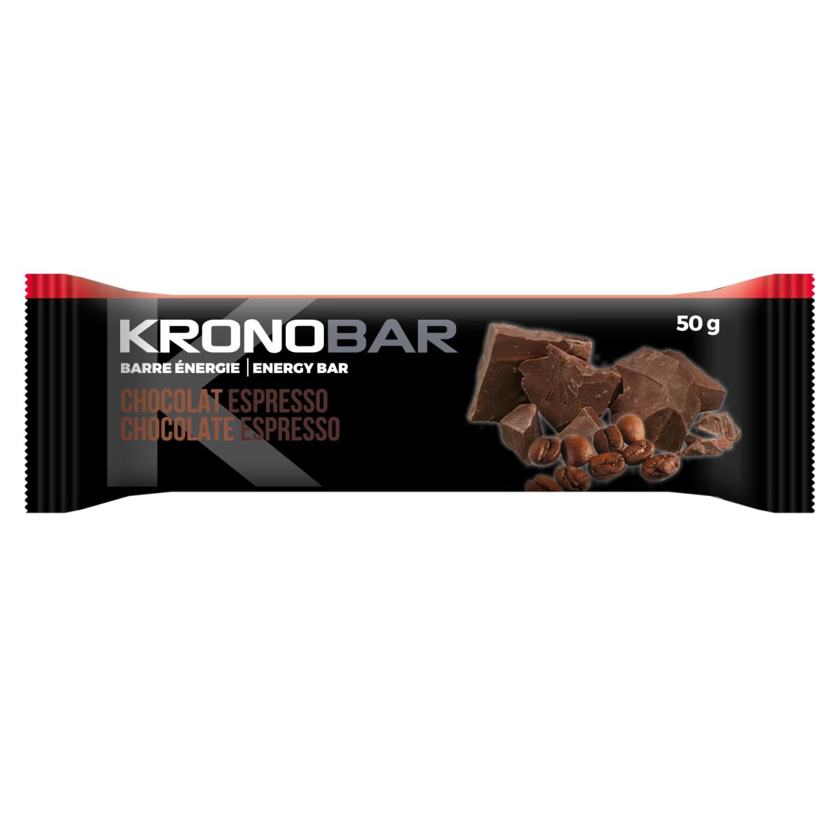 BARRE ENERGETIQUE KRONOBAR CHOCO-ESPRESSO