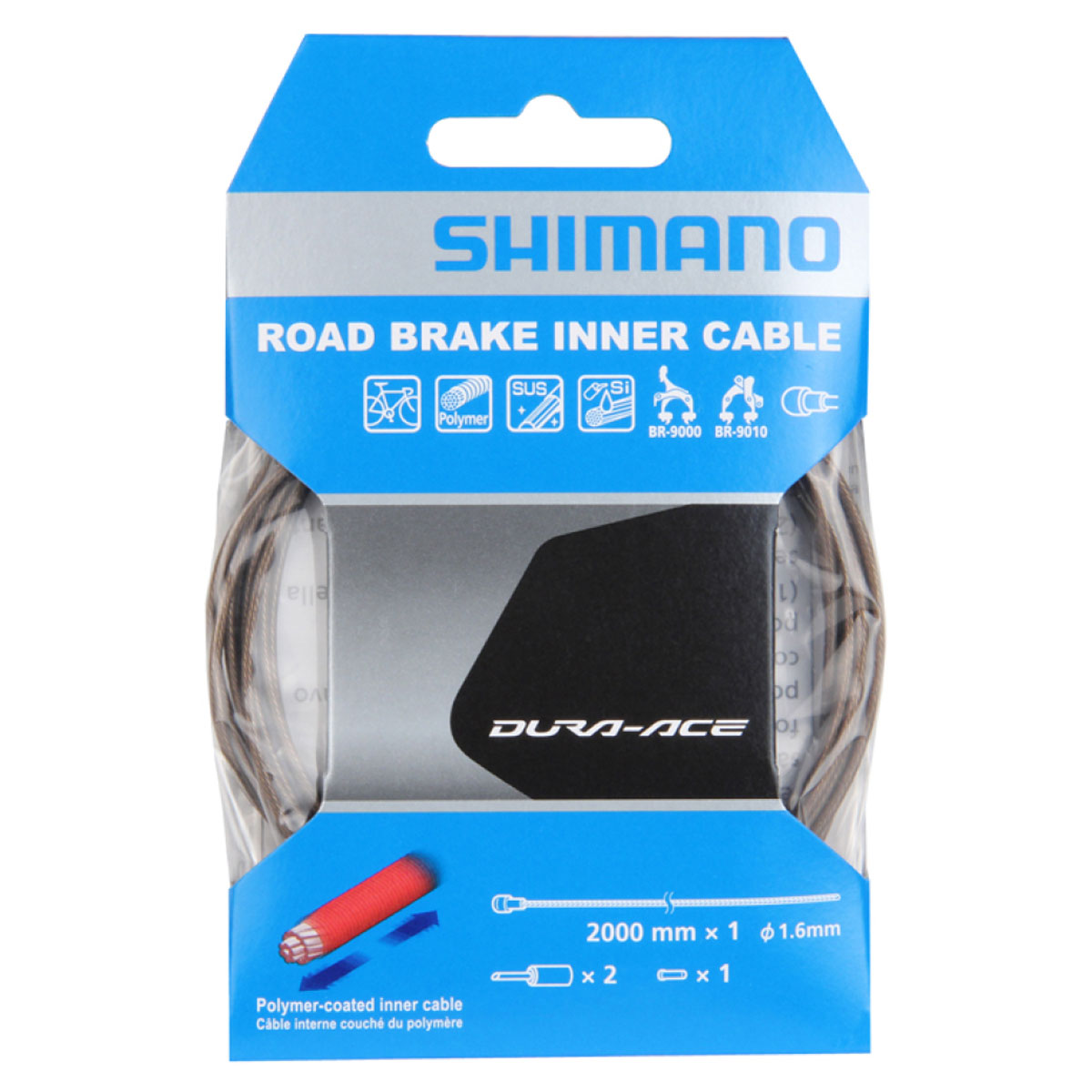 CABLE DE FREIN SHIMANO DURA-ACE 9000 - POLYMER COATED - UNITE