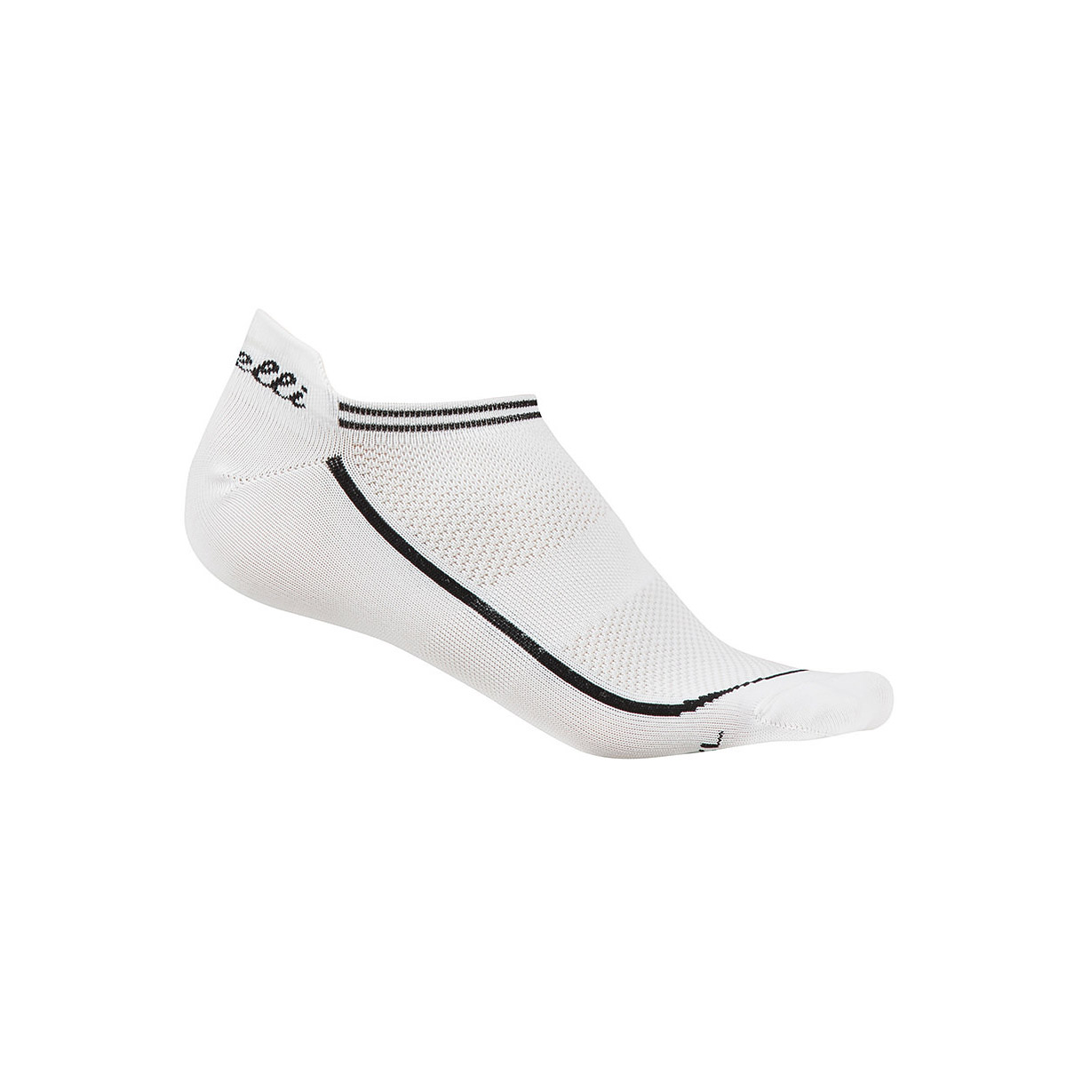CHAUSSETTES CASTELLI INVISIBLE FEMME BLANC SMALL/MEDIUM