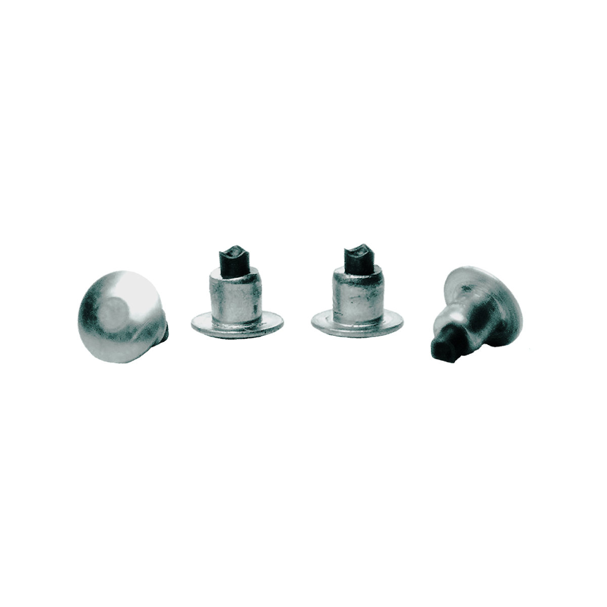 CLOUS TERRENE TRIPLE TRACTION CROWN STUD TUNGSTEN CARBIDE (PAQUET DE 100)
