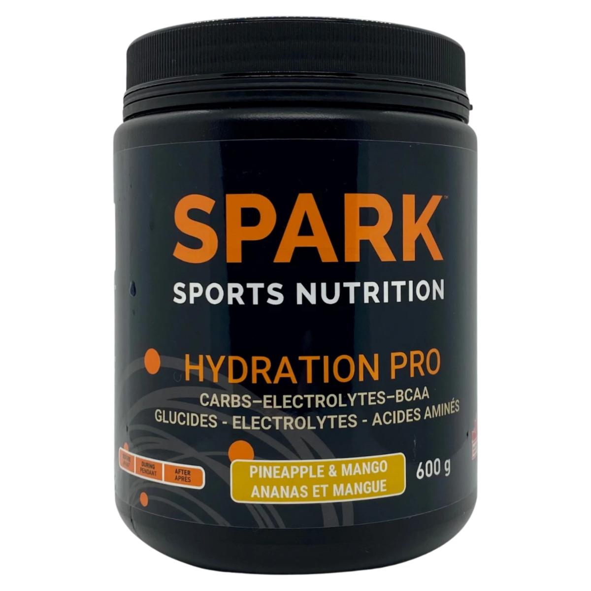 electrolytes-spark-pro-ananas-mangue
