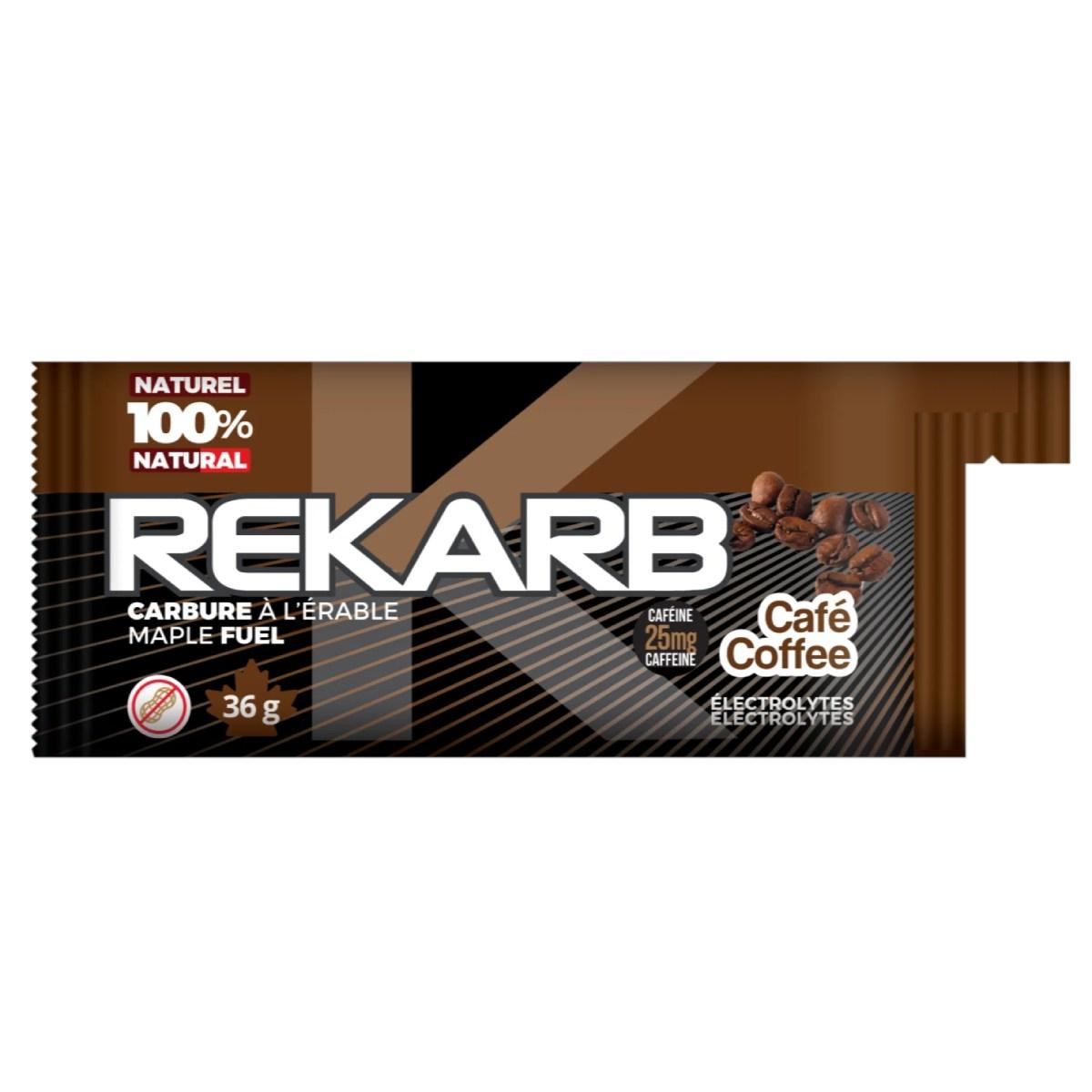 GEL ENERGETIQUE REKARB ERABLE CAFE