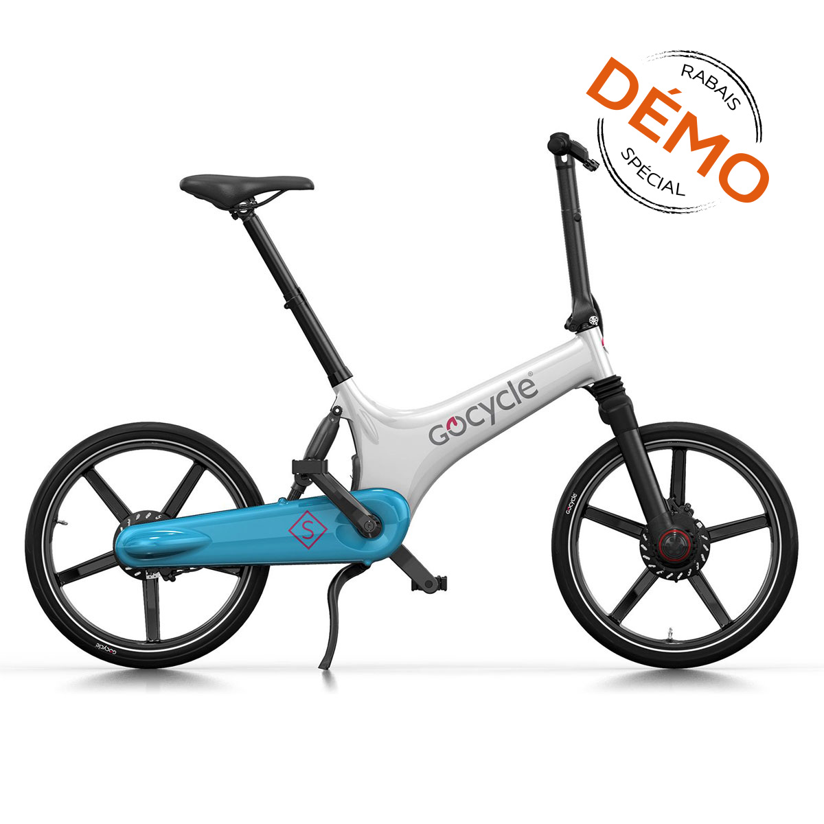 GOCYCLE GS BLANC/BLEU PALE