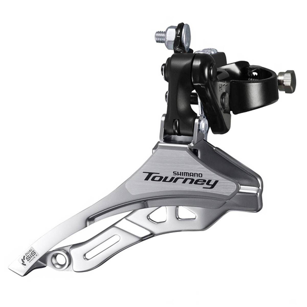 Shimano, Tourney FD-TY500, Dérailleur avant, 6/7vit., Top Swing, dual Pull, Low, 34.9/31.8/28.6mm