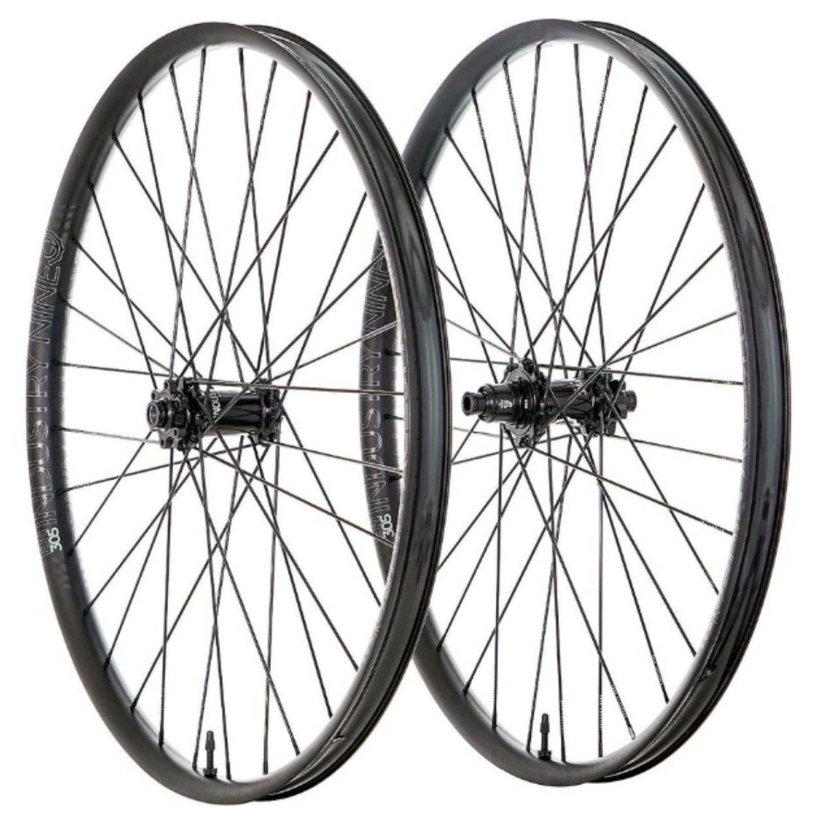 ROUES INDUSTRY 9 HYDRA ENDURO S 29 15X110/12X148  28 RAYONS 6 BOLTS XD NOIR