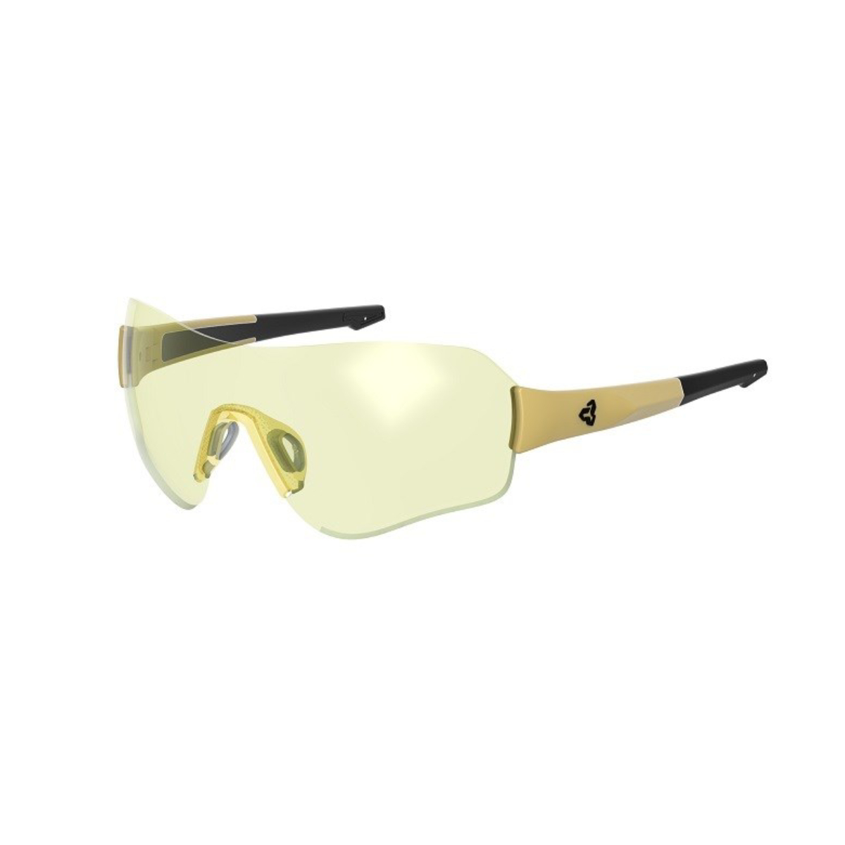 LUNETTE RYDERS FITZ POLY OR METALIC MT LENTILLE JAUNE ANIT BUEE