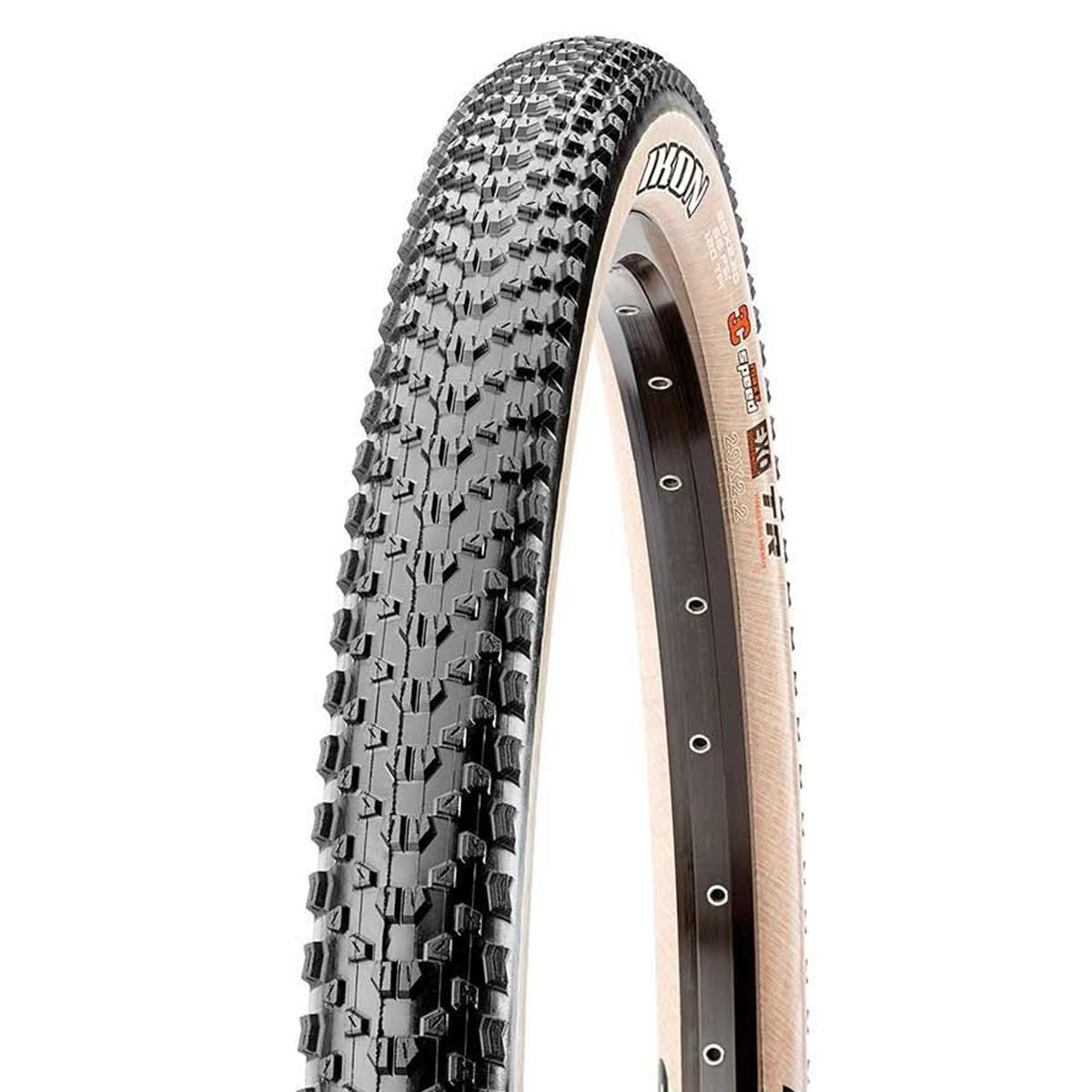 Maxxis, Ikon, Tire, 29''x2.20, Folding, Tubeless Ready, 3C Maxx Speed, EXO, 60TPI, Tanwall