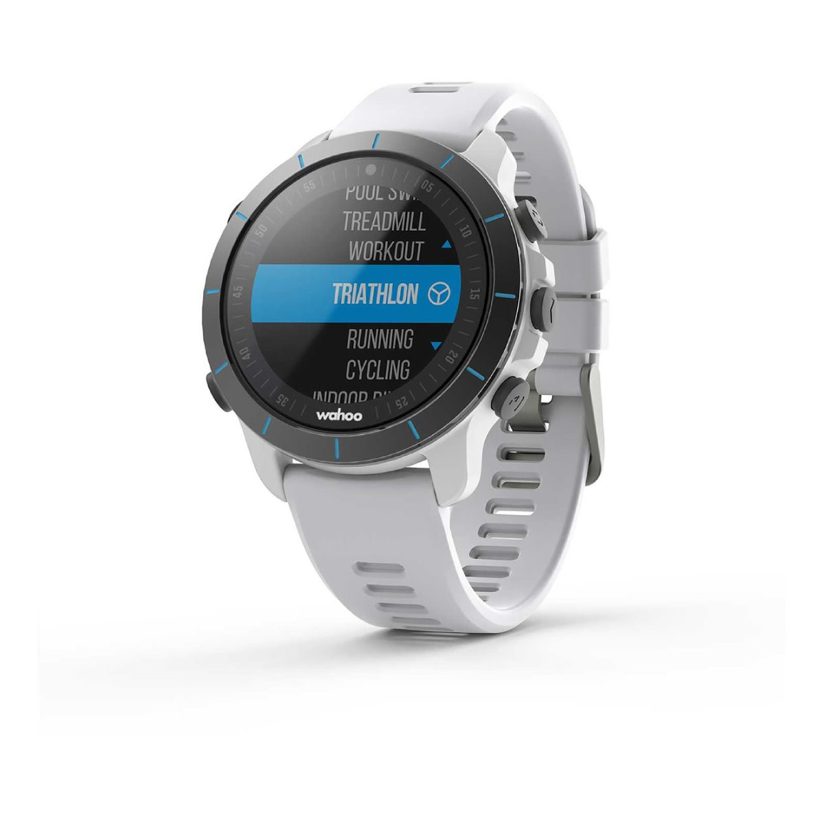 MONTRE GPS WAHOO ELEMNT RIVAL BLANCHE