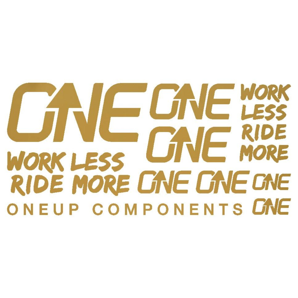 ONE UP DECAL KIT OR