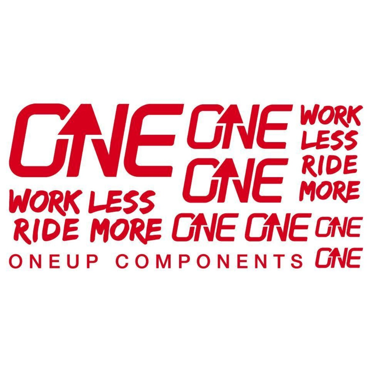 ONE UP DECAL KIT ROUGE
