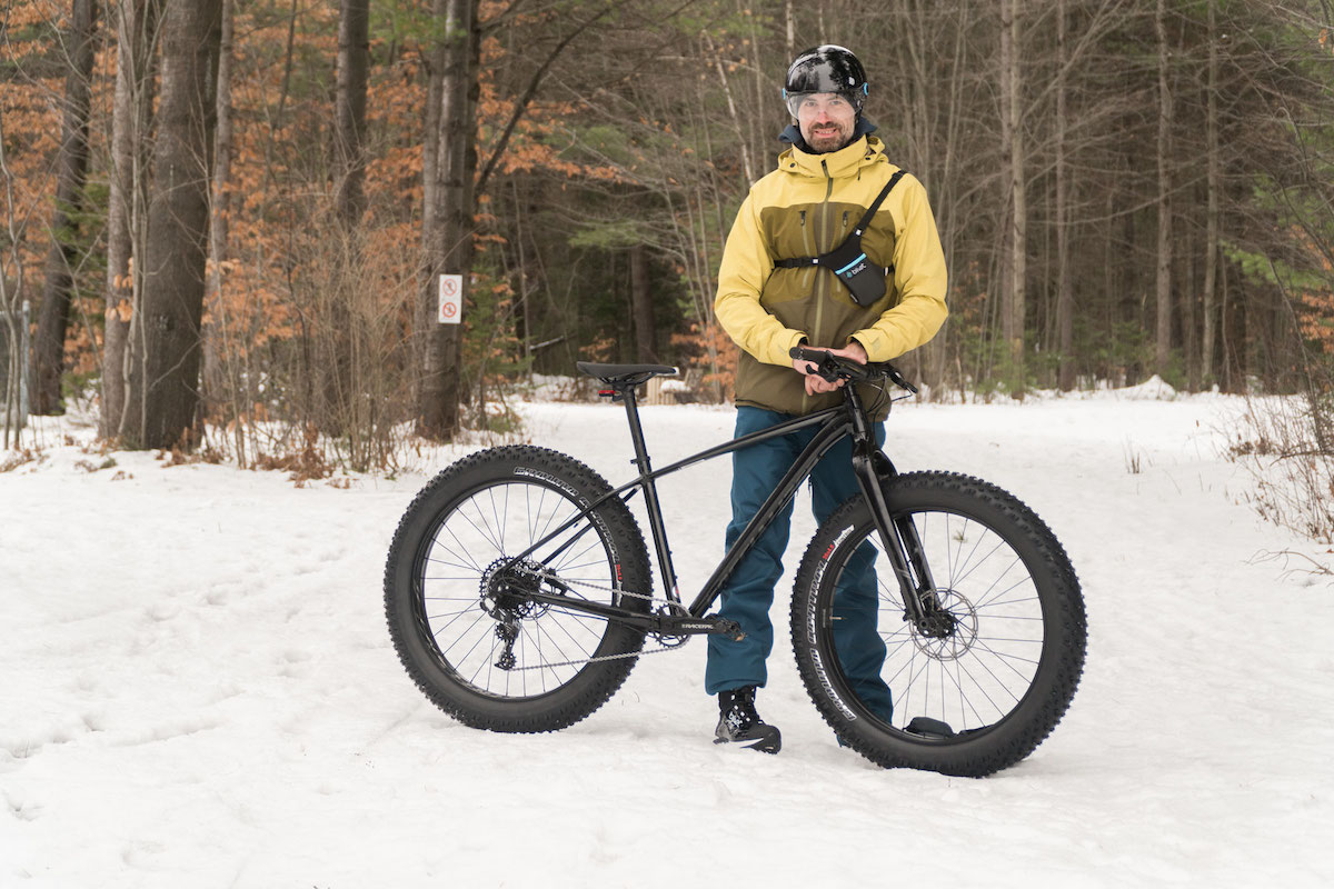 Le fatbike, un sport d'hiver?