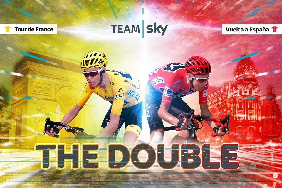 Tour de France / Vuelta - Pinarello fête le doublé historique de Chris Froome!