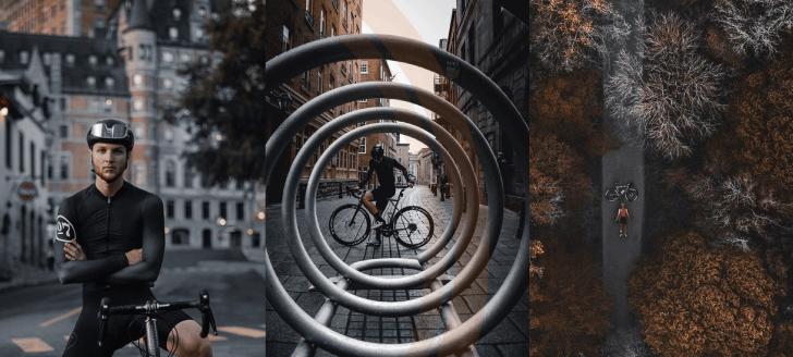 Alex Cormier, cycliste et influenceur: notre entrevue