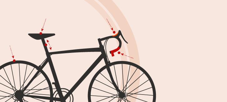 Des trucs pour améliorer votre confort à vélo