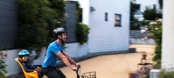 5 moyens de transporter son enfant à vélo