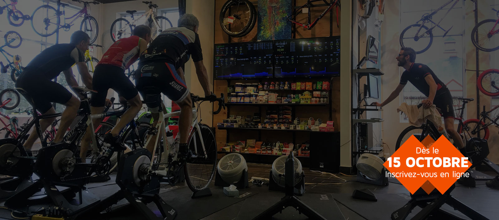 Spinning Montreal et Tremblant