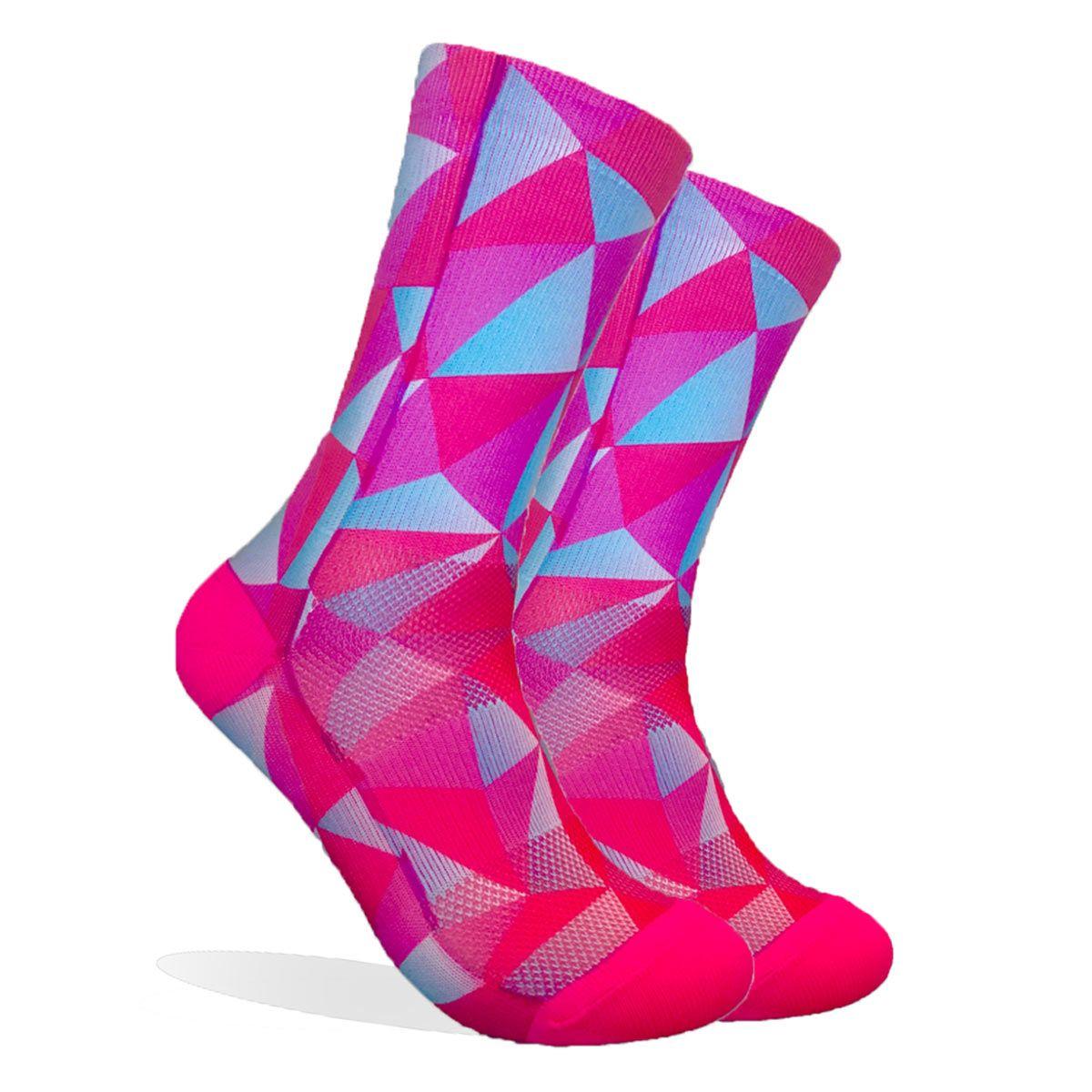 Chaussettes Endur Destiny Pink 6 Pouces