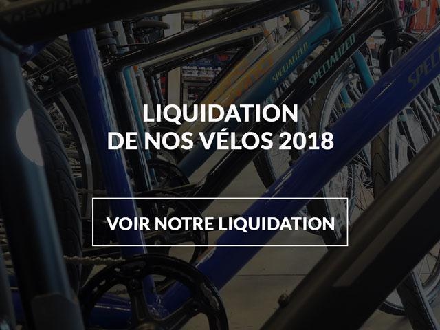 Liquidation de vélos 2018