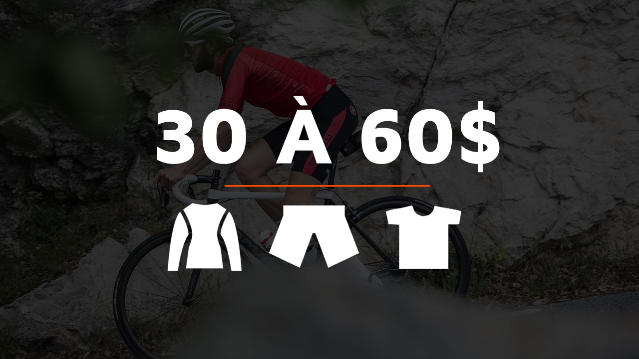 vetements de 30 à 60 dollars