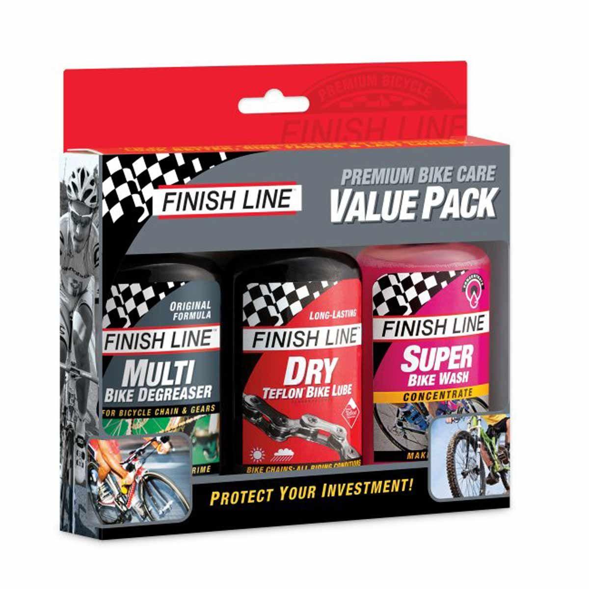 produits entretien Finish Line Value Pack