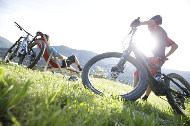Vélo de montagne a assistance électrique
