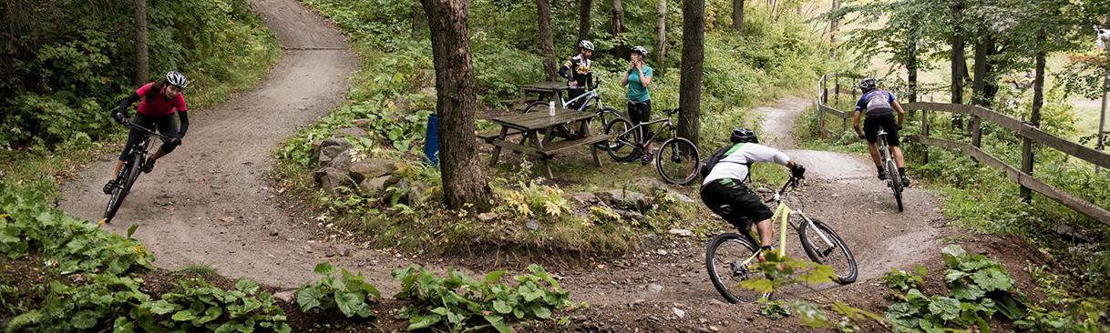 Vélo de montagne - Ski Bromont