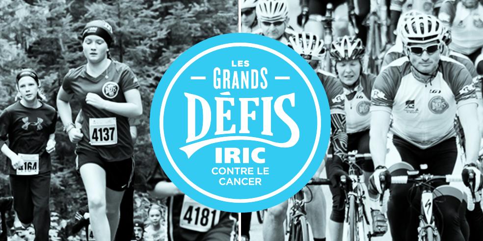 Plusieurs Grands Défis en septembre, à Montréal et en Mauricie, avec l'IRIC