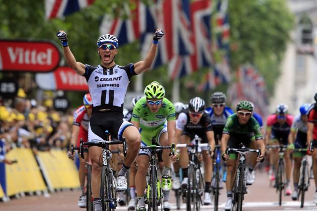 Le Tour de France 2014 - Le parcours vu autrement: l'étape 4
