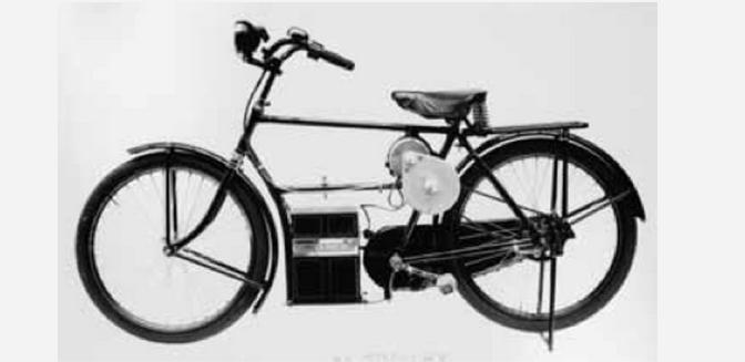 100e: Le vélo électrique ne date pas d'hier !