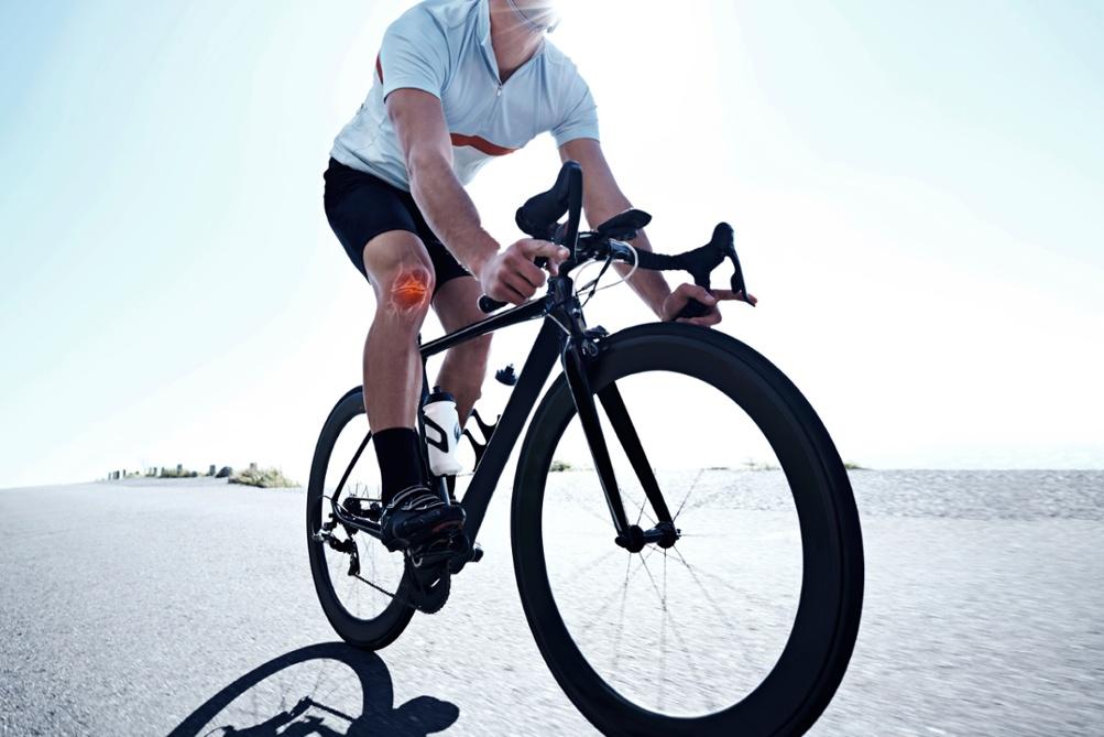 Douleur aux genoux à vélo: des façons de l'éviter